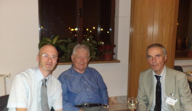 Cu Adrian Neculau si Willem Doise (la Conferinta Nationala de Psihologie - Brasov - 2012)