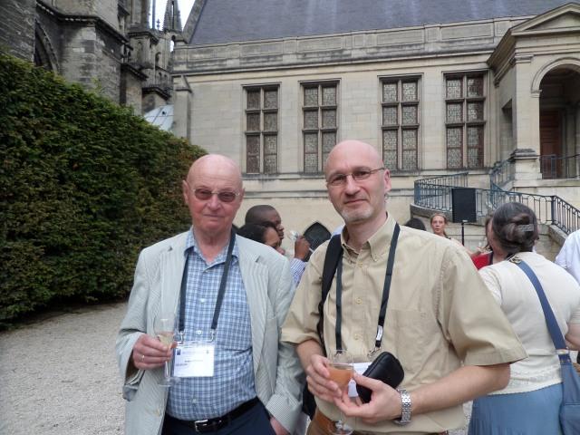 Cu Geert Hofstede - Conferința IACCP - Reims, iulie 2014